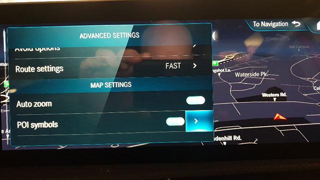 PDI de radares fijos para<br>Mercedes Comand Online & MBUX